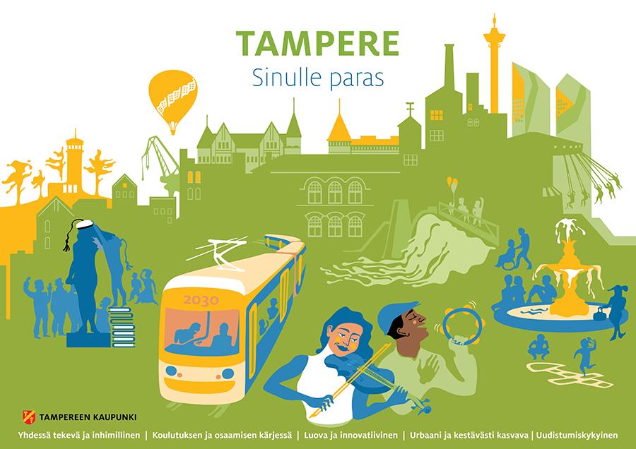 Tampere strategiakuva Pirita Tolvanen
